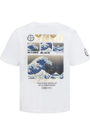 Evisu Ukiyo-E Collage Print T-shirt