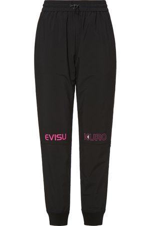 Evisu Knee Zipper Sports Pants