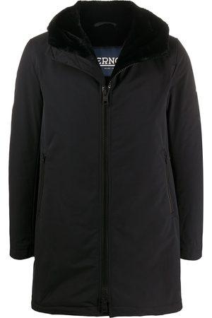 HERNO Short hooded coat