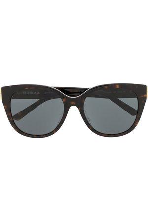 Balenciaga Women Sunglasses - Tortoiseshell cat-eye BB sunglasses