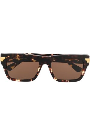 Bottega Veneta Square-frame sunglasses