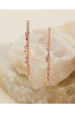 EL&RO Starlight Thread Earrings - Jewellery (Rose ) Starlight Thread Earrings