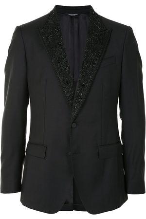 Dolce & Gabbana Men Blazers - Appliqué lapel jacket