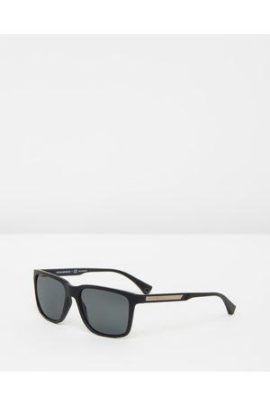 Emporio Armani Injected Man - Sunglasses (Polar Plastic Polarised) Injected Man