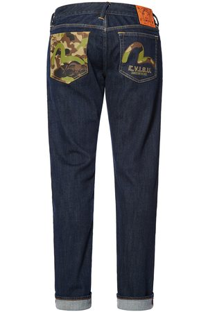 Evisu Camouflage and Seagull Regular Fit Jeans #2008