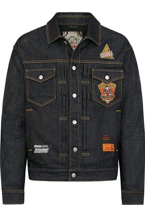 Evisu Daicock Denim Jacket with Detachable Waistcoat