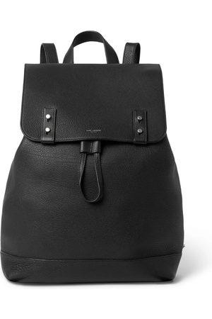 Saint Laurent Men Backpacks - Full-Grain Leather Backpack