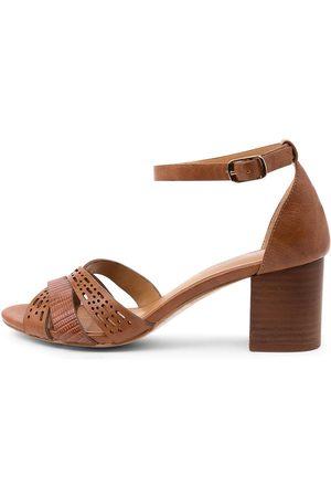 I LOVE BILLY Women Heeled Sandals - Karrinyup Il Tan Sandals Womens Shoes Casual Heeled Sandals