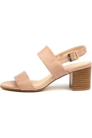 Diana Ferrari Women Heeled Sandals - Rachelo Df Dk Nude Sandals Womens Shoes Heeled Sandals