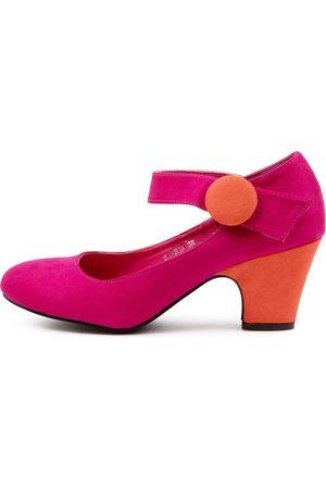 I LOVE BILLY Women Heels - Sharik Fuchsia Shoes Womens Shoes Casual Heeled Shoes