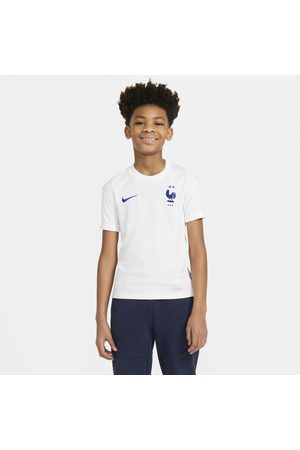Nike FFF 2020 Stadium Away Older Kids' Football Shirt