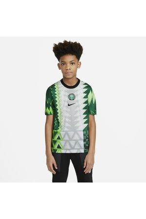Nike Nigeria 2020 Stadium Home Older Kids' Football Shirt