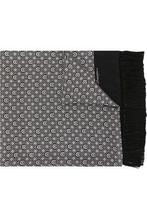 Dolce & Gabbana Men Scarves - Fringed silk scarf