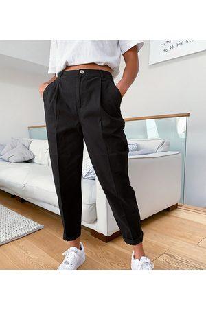 ASOS ASOS DESIGN Petite chino pants in black
