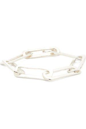 PEARLS BEFORE SWINE Muknal Chain-link Sterling- Bracelet - Mens