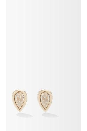 Zoe Chicco Diamond & 14kt Stud Earrings - Womens