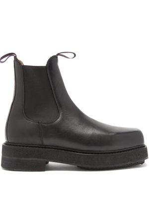 Eytys Men Boots - Ortega Chunky Leather Chelsea Boots - Mens