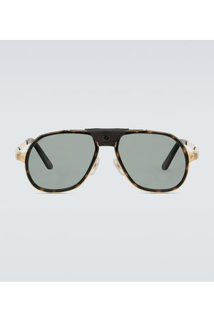 CARTIER EYEWEAR Aviator-style sunglasses