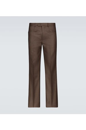 Givenchy Tweed hecked pants