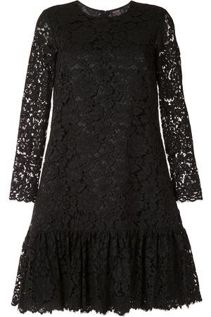 ADAM LIPPES Long sleeve corded lace dress