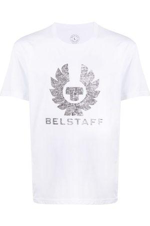 Belstaff Men Short Sleeve - Logo-print T-shirt