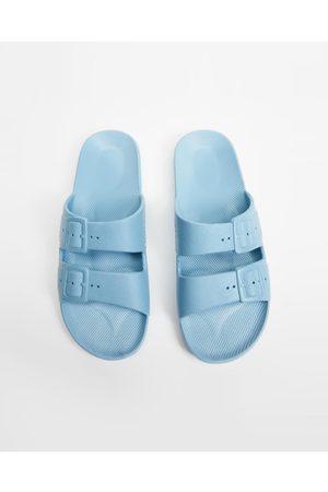 Freedom Moses Slides Unisex - Casual Shoes (Lagoon) Slides - Unisex