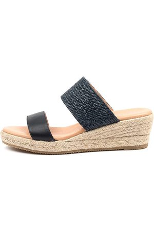 Diana Ferrari Renaya Df Deep Sandals Womens Shoes Casual Heeled Sandals