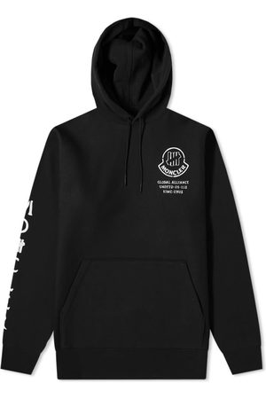 Moncler Genius 2 Moncler 1952 x Undefeated Sleeve Print Popover Hoody