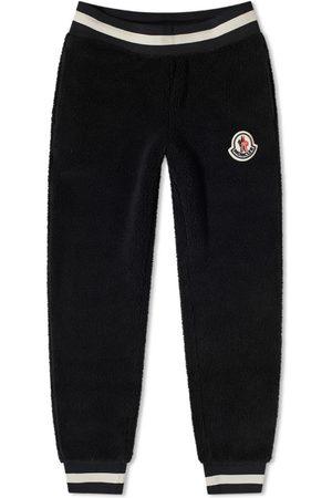 Moncler Patch Logo Polar Fleece Sweat Pant