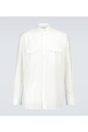 Givenchy Oxford cotton long-sleeved shirt
