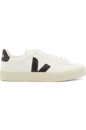 Veja Campo Leather Trainers - Womens
