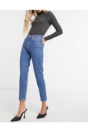 MiH Jeans M.i.h. Mimi high-waist slim leg jeans in blue