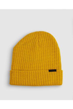 ONEBYONE Bobby Beanie - Headwear (Mustard) Bobby Beanie