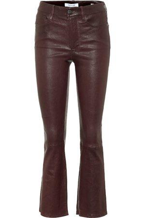 Frame Le Mini Boot leather pants