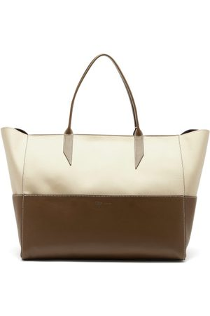 Métier Incognito Large Cabas And Leather Tote Bag - Womens - Multi
