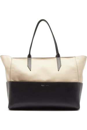 Métier Incognito Small Cabas And Leather Tote Bag - Womens - Multi