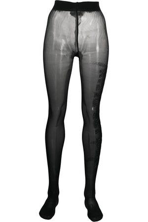 Philipp Plein Women Stockings - Gem-embellished tights