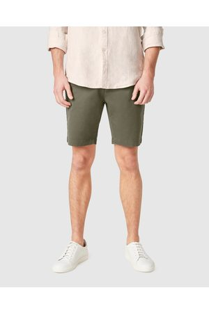 French Connection Slim Fit Stretch Chino Shorts - Shorts (MILITARY ) Slim Fit Stretch Chino Shorts