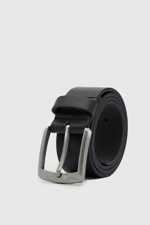 Boohoo Mens Casual Leather Look Jeans Belt