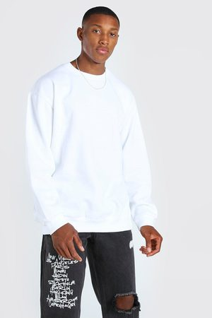 Boohoo Mens Oversized Crew Neck Sweatshirt