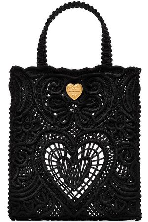 Dolce & Gabbana Women Tote Bags - Small Beatrice crocheted tote bag
