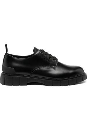 Car Shoe Men Loafers - Block Derby shoes