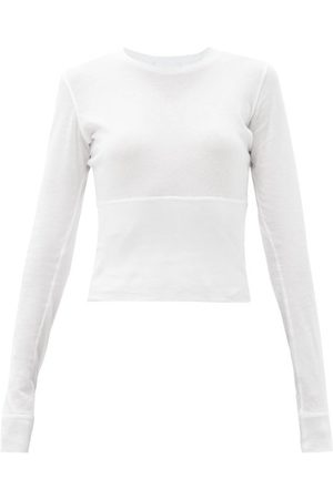 WARDROBE.NYC Wardrobe. nyc - Release 06 Panelled Cotton-jersey T-shirt - Womens