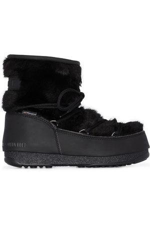 Moon Boot Women Boots - Monaco faux fur boots