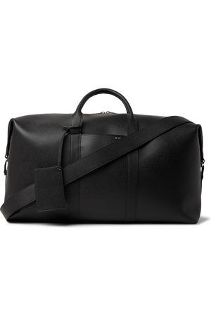 VALEXTRA Men Travel Bags - Textured-Leather Holdall