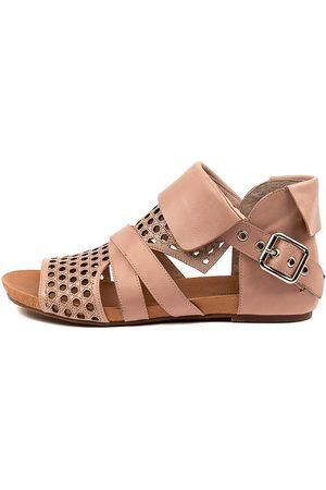 Django & Juliette Women Sandals - Dwan Dj Blush Sandals Womens Shoes Casual Sandals Flat Sandals