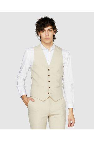 Jack London Men Waistcoats - Waistcoat - Coats & Jackets (Nude) Waistcoat