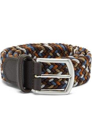 Anderson's Woven Elasticated Belt - Mens - Multi