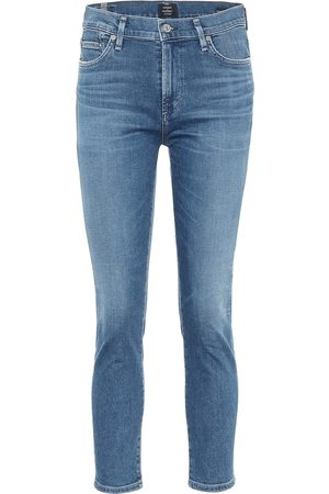 Citizens of Humanity Rocket Crop mid-rise skinny jeans