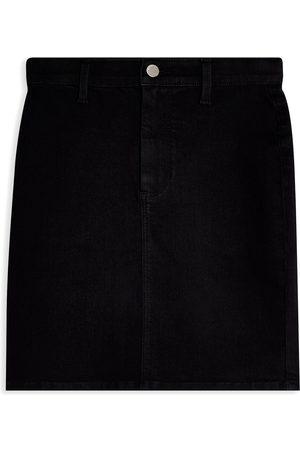 Topshop Denim skirts